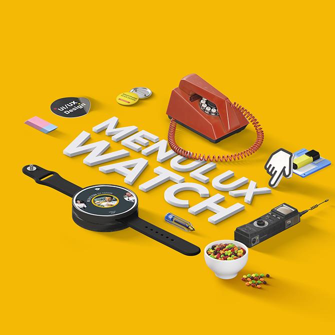 Menulux Watch UI/UX Tasarımı
